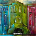 Eingang zur Maschinenhalle/Gladbeck 100 x 80 cm    verkauft/sold