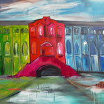 Maschinenhalle Springtime, Gladbeck 80 x 120