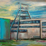 Zeche Ewald Herten/C. 80 x 120 cm verkauft/sold