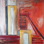 Nordstern Orange-Rot   150 x 100 cm verkauft, sold