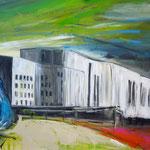 Aalto Theater Essen 80 x 100 cm verkauft/sold