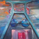 Zollverein twin blue, Essen   100 x 150 cm verkauft/sold