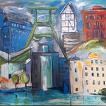 Essener City. 120 x 160 cm  verkauft/sold