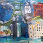 Essener City. 120 x 160 cm  verkauft/sold