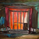 Schauspielhaus Bochum    80 x 100 cm verkauft/sold