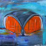 Oper Dortmund 80 x 100 cm