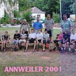 Jugend-Freizeit in Annweiler im Jahre 2001