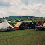 Erstes Zeltlager am Bostalsee (ca. Ende der 70er Jahre)
