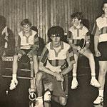 1. Jugendmannschaft | Trainer M. Koch, T. Kalter, M. Bender, U. Uhlig, T. Kipper