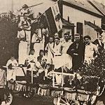 Festwagen der DJK: 100 Jahre Stadt St. Ingbert (1929).