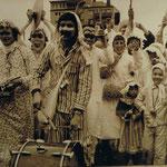 DJK beim Faschingsumzug Ende der 70er Jahre