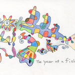 The year of a fish.