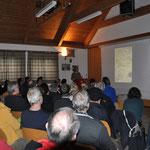 Fast 75 Personen waren zum Vortrag über die Isarflößerei ins Gadener Feuerwehrhaus gekommen.
