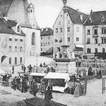 Viel stärker als heute bestimmten die Grenzen das tägliche Leben. Hier wurden nicht nur Zölle und Maut kassiert. In der Bischofsstadt durften bis 1802 nur die Bauern aus der direkten Umgebung ihre Waren verkaufen, nicht aber bayerische Händler.