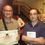 Con lo scrittore savonese Claudio Barbero
