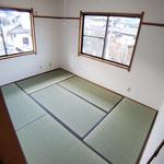 和室 畳の表替えと襖の張替え