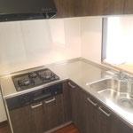 キッチン解体・設置