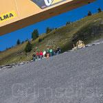 Grindelwald Männlichen das Büro auf der Baustelle