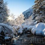 Guttannen Aare Winter