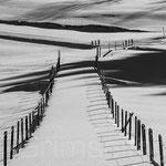 Guttannen Sand verschneiter Weg