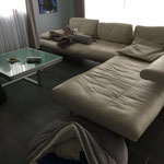 Kleiner Kajano auf großer Couch