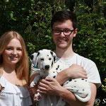 Julia und Manuel freuen sich über ihren kleinen Schatz. Die drei werden in Gindorf ein tolles Team sein
