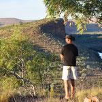 Branco Lookout - Aussicht auf Pentecost River und El Questro