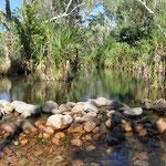 El Questro - kleinere Flussdurchfahrt
