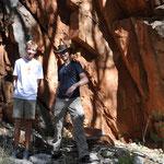 Wanderung Stanley Chasm