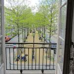 vue depuis le balcon du premier étage