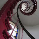 escalier hélicoïdal elliptique