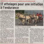 Article du Courrier Cauchois le 22 septembre 2017