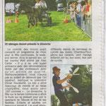 Article du courrier Cauchois le 6 septembre 2013