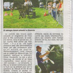 Article du courrier Cauchois le 6 septembre 2013