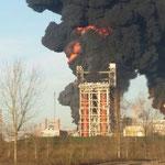 Incendio Raffineria di Sannazzaro de' Burgondi