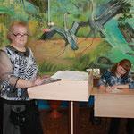 Анна Николаевна ведёт городское МО учителей биологии