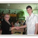 Рудица Д. - призёр областной научно-практической конференции, 2007