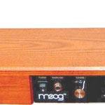 Moog Theremin (auch Ätherwellengeige oder Ätherophon), erfunden 1919 vom russischen Physikprofessor Lev Sergejewitsch Termen. Es ist eines von wenigen Musikinstrumenten, die vom Musiker ohne körperliche Berührung gespielt werden. Einzigartig!!