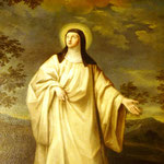 Dipinto della Beata Lucia da Settefonti