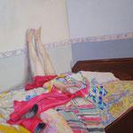 まみれひとりぼっち   アクリル・油彩・綿布・パネル   1167×910