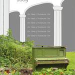 "Plakat Nr.3 ""Innenhofkonzerte Hof"", Semesterarbeit"