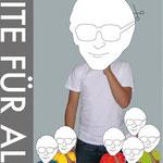 """Plakat Nr.2 """"Elite für alle"""", Semesterarbeit"""