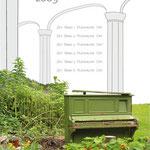 "Plakat Nr.2 ""Innenhofkonzerte Hof"", Semesterarbeit"