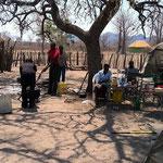 BDC(ホームレスたちの家)での共同生活(ツォディロ村)