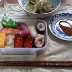 日本で食べた最後の食事。寿司