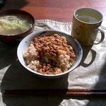 日本での最初の食事