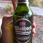 南部アフリカを代表するビール「ウイントフック」(Planet Baobab)