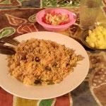 ドクターゴンザレス家でのキューバ料理(トテン村)