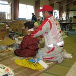 大槌町避難所(2011.6.16)
