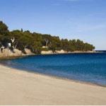 Strand an der Côte d' Azur
